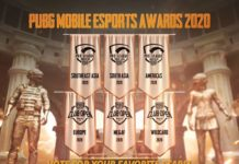PUBG Mobile Esports Awards