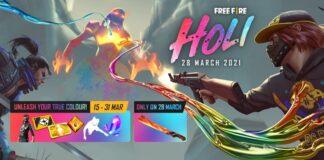 free fire holi