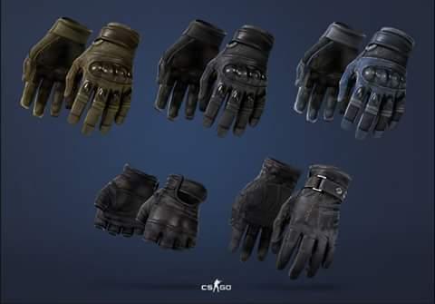Gloves visuals