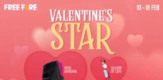 Free Fire Valentine Star