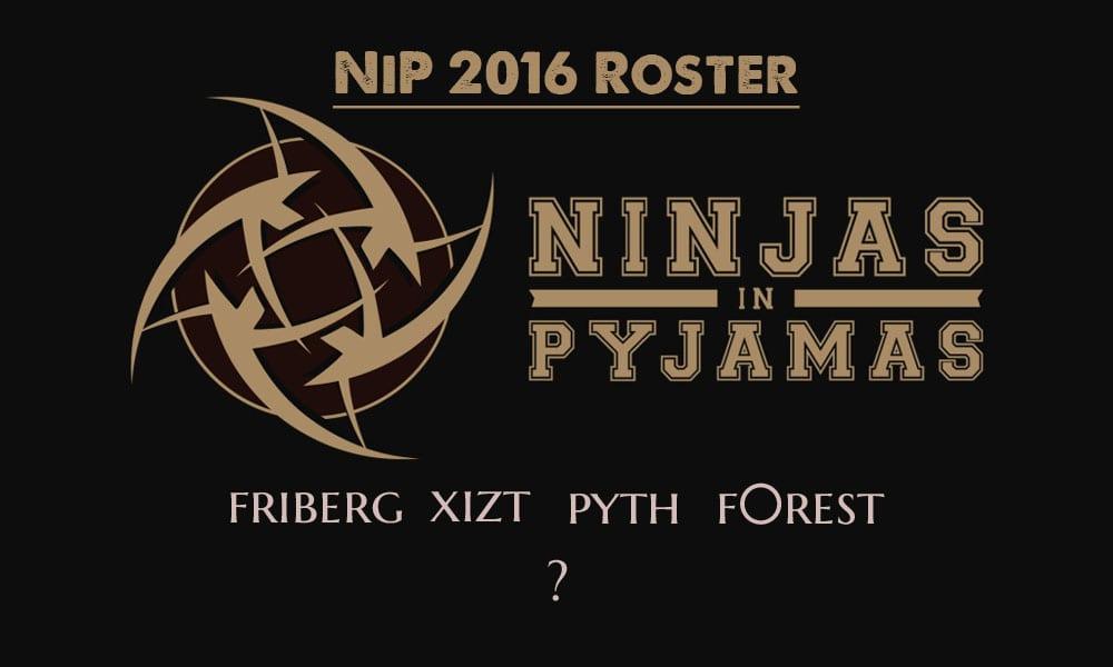 Nip roster 2016