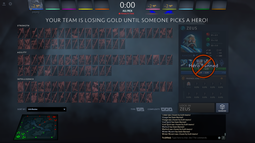 Game Breaking Loophole Found In The New Matchmaking System Of Dota