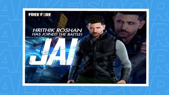 Free Fire Hritik Roshan