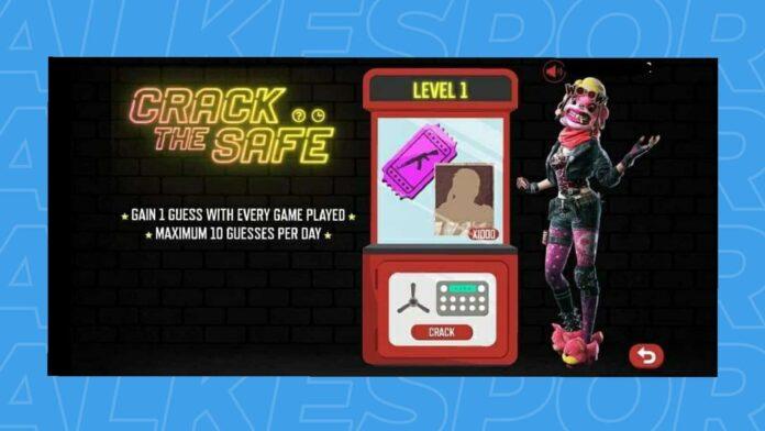 Crack the safe