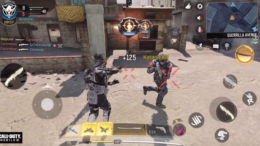 Call of Duty:Mobile launches new Operator Skill 'Katana'.