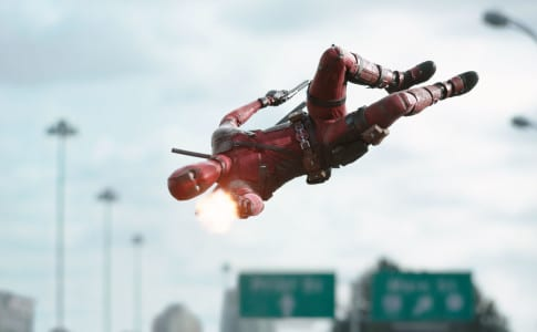 Deadpool opening scene