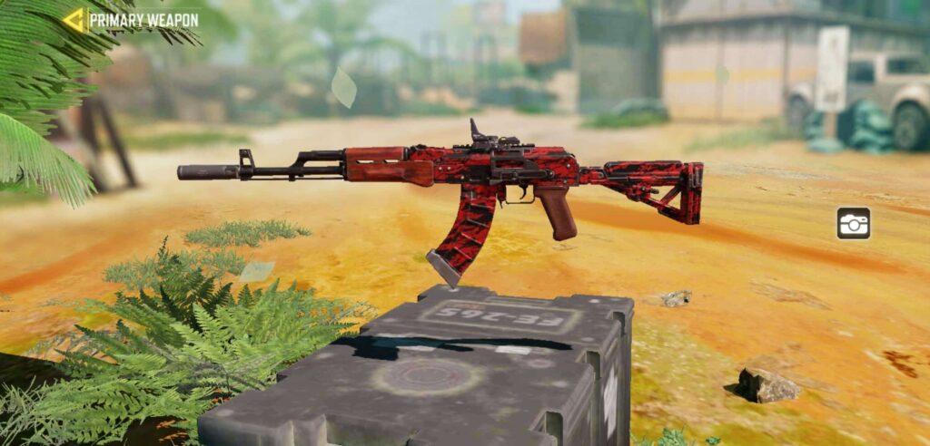 COD Mobile Assault Rifle AK47