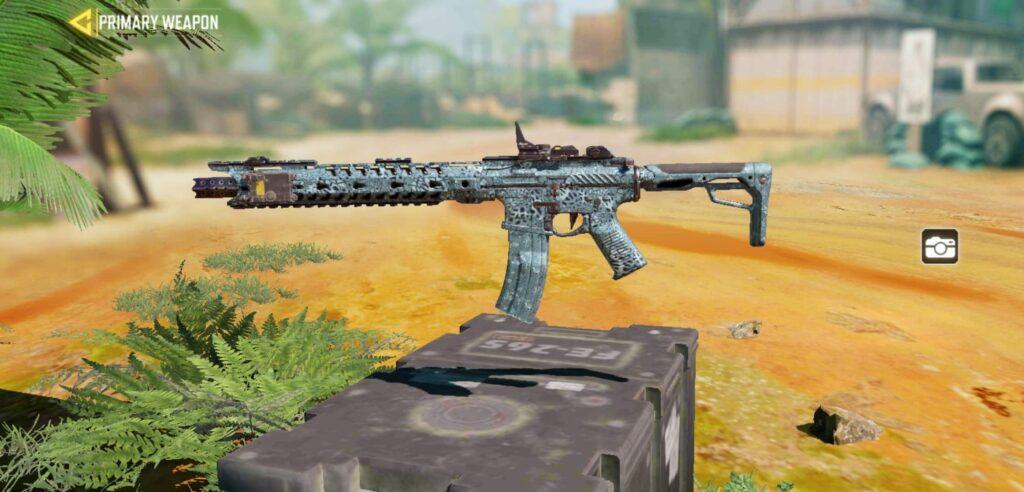 COD Mobile Assault Rifle M4
