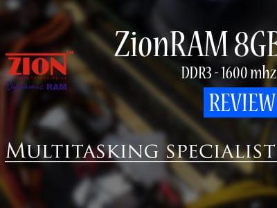 ZionRAM 8GB DDR3