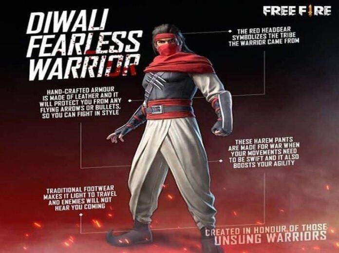 Diwali Fearless Warrior set