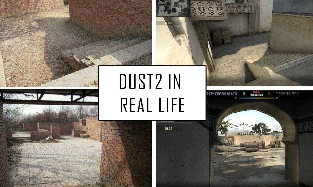 dust2 map real life