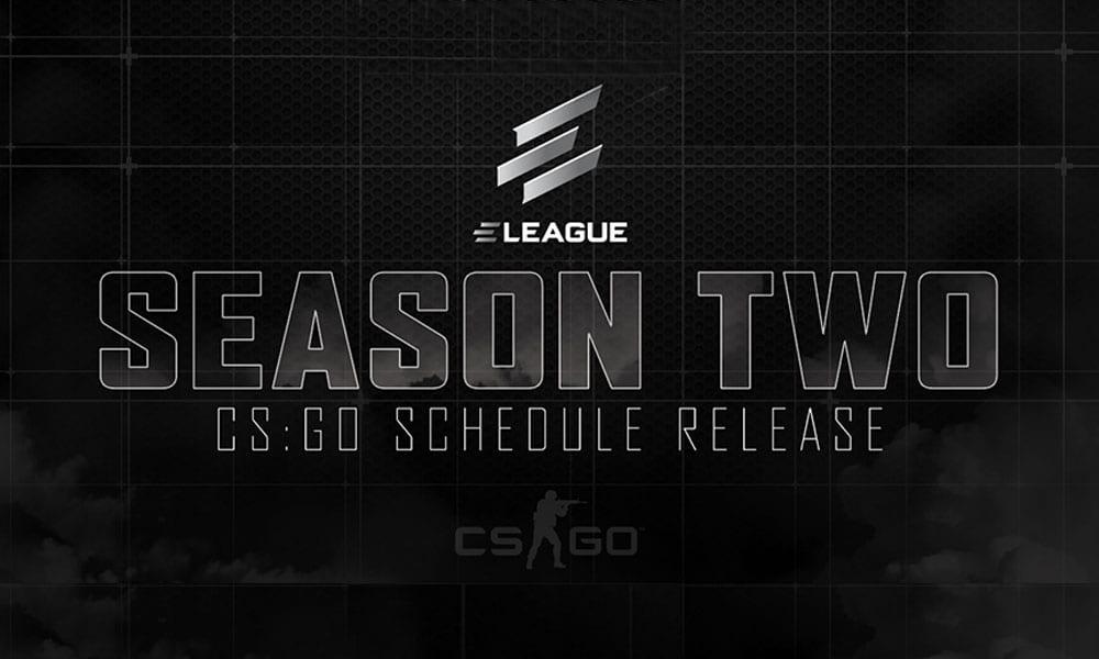 ELEAGUE Season 2 schedule