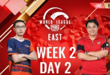 PMWL League Play Week Two Day One Results